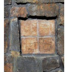 Innfelt muro-fasade